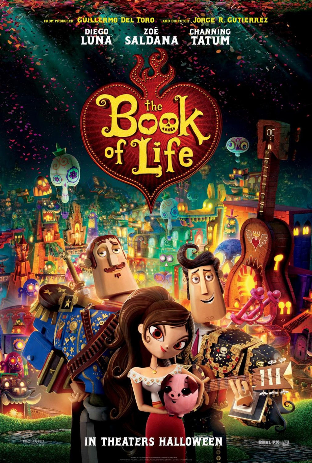 Extra Large Movie Poster Image for Book of Life