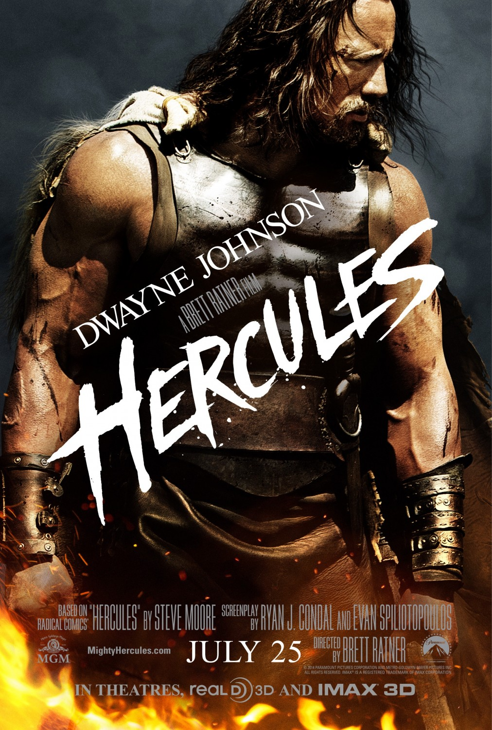 Extra Large Movie Poster Image for Hercules