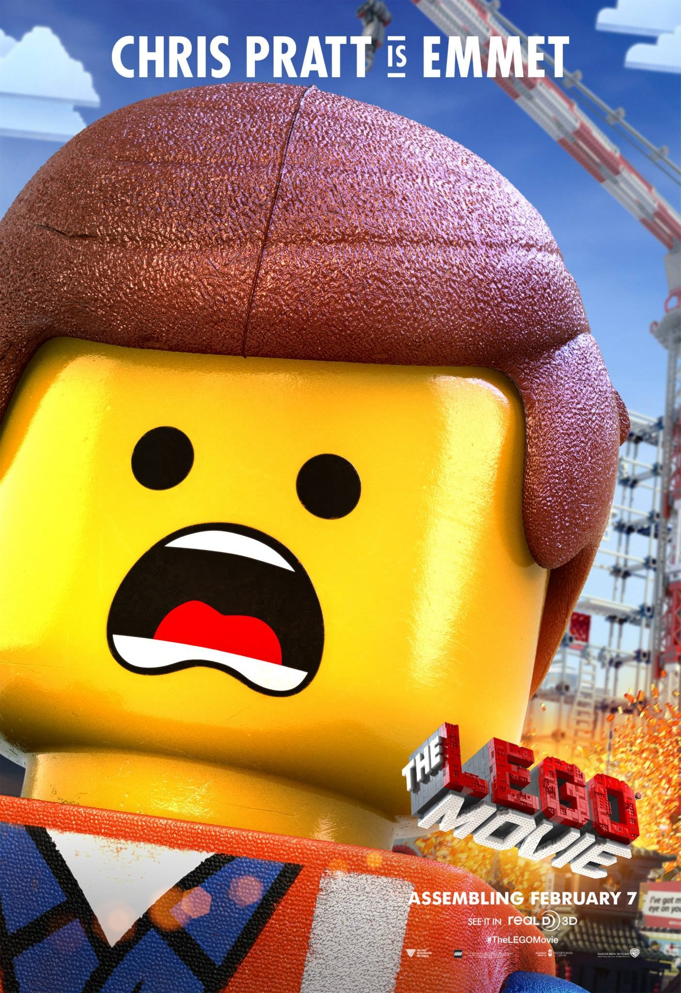 Mega Sized Movie Poster Image for The Lego Movie