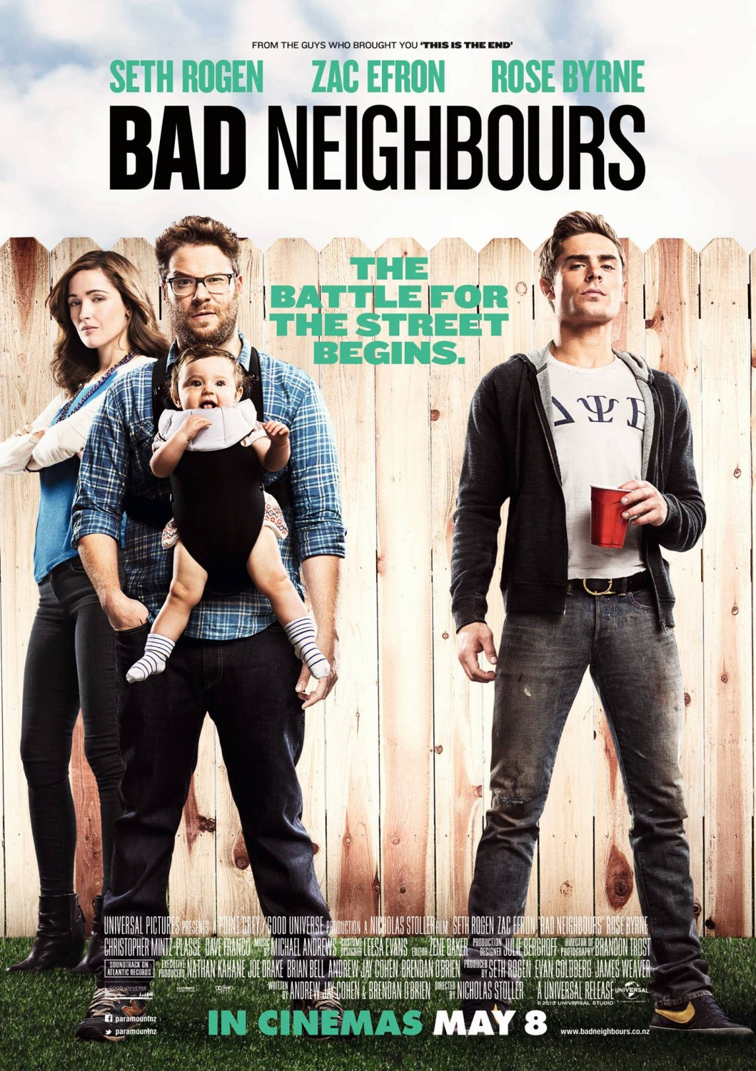 Extra Large Movie Poster Image for Neighbors