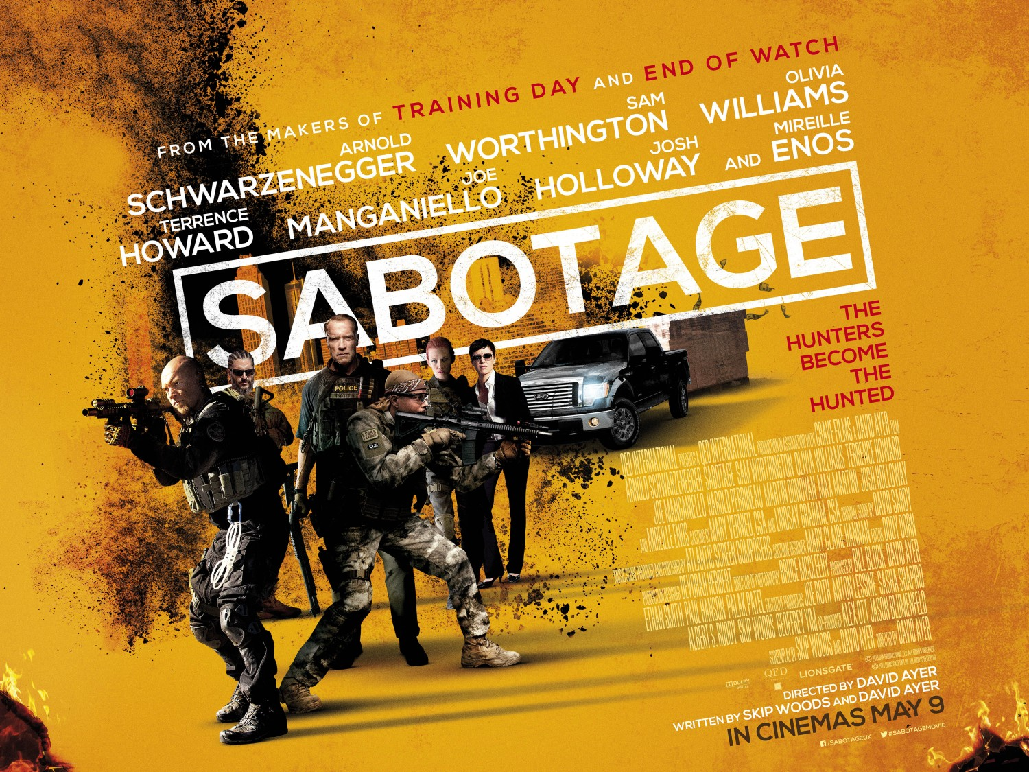 Extra Large Movie Poster Image for Sabotage (#3 of 13)