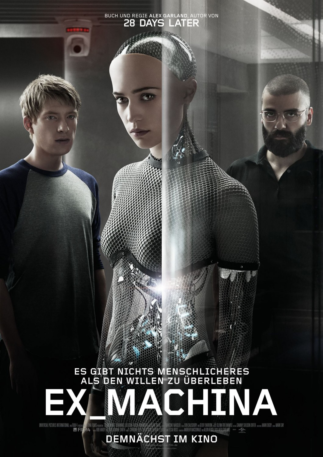 Extra Large Movie Poster Image for Ex Machina