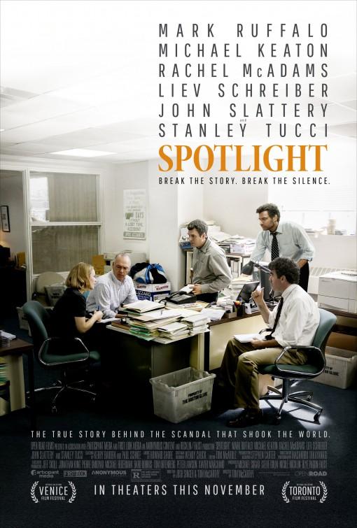 Hasil gambar untuk spotlight poster