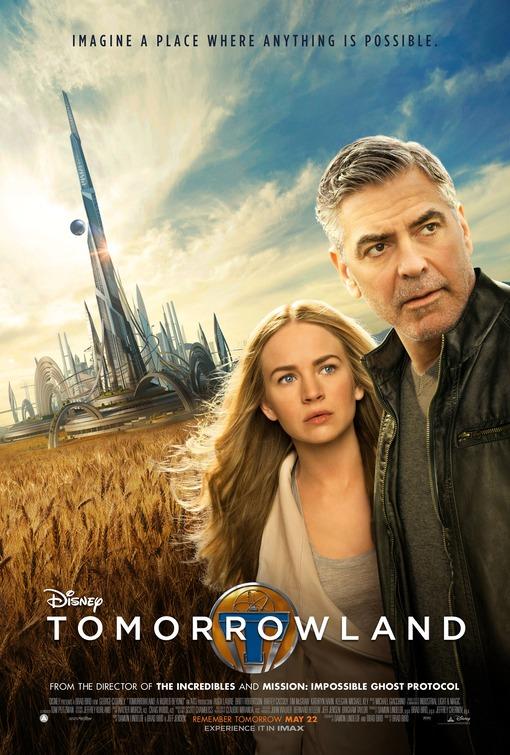 Afbeeldingsresultaat voor tomorrowland movie poster