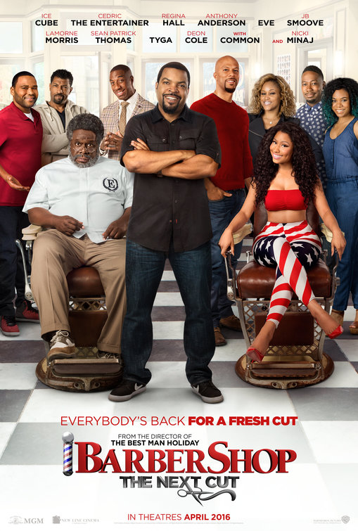 Image result for Barbershop movie poster