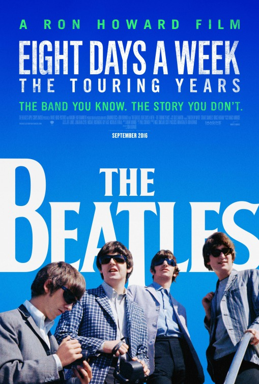 Image result for The Beatles eight days a week movie poster