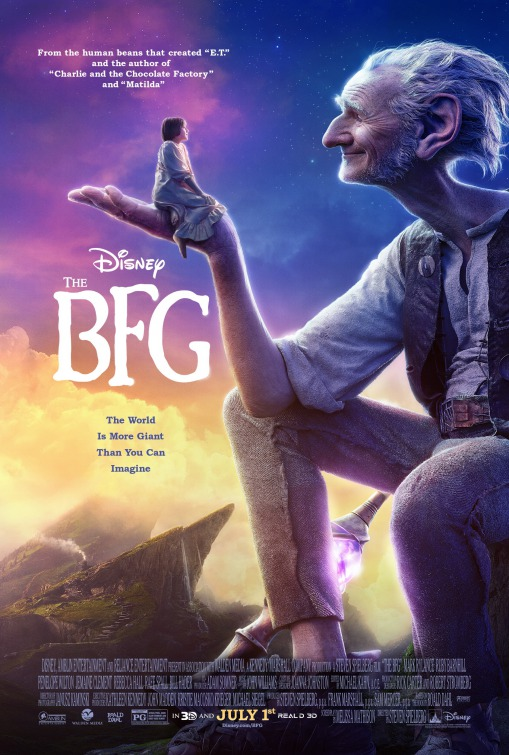 Image result for the bfg movie poster