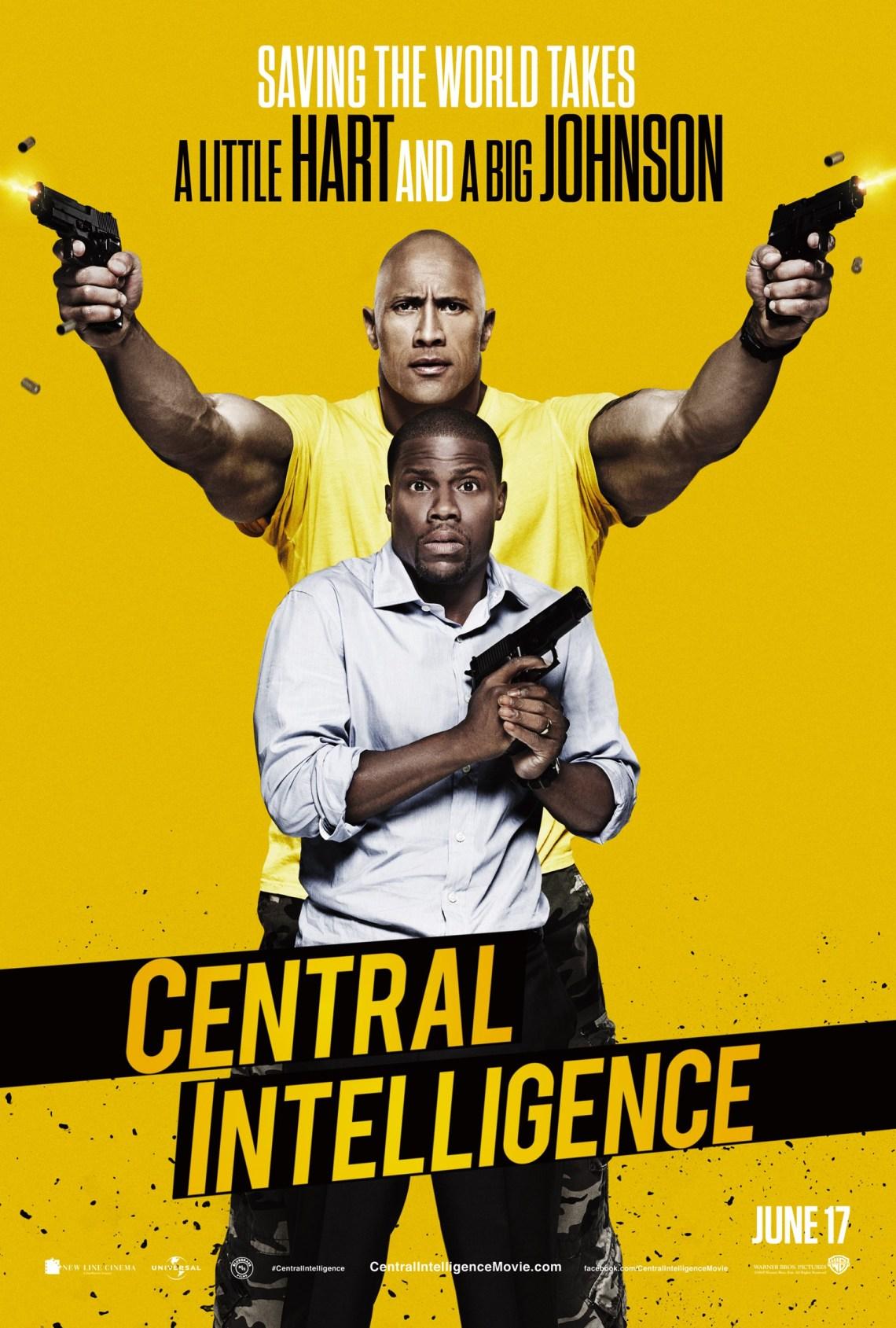 Central Intelligence Poster via impawards.com