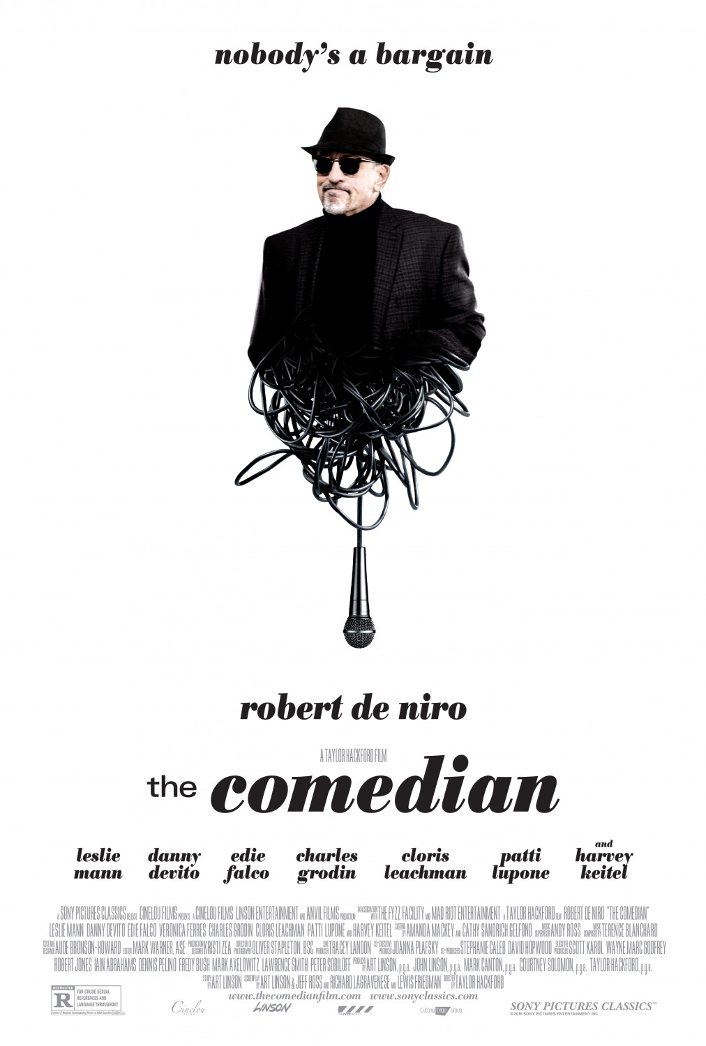Image result for The Comedian movie poster