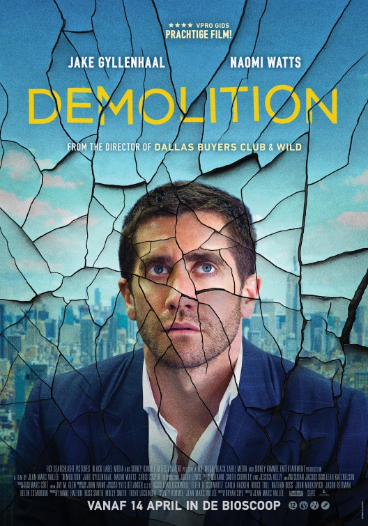 Image result for demolition movie poster