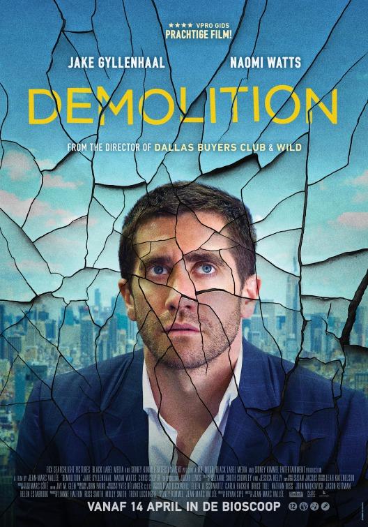 Image result for demolition movie poster