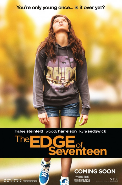 Image result for edge of seventeen movie poster