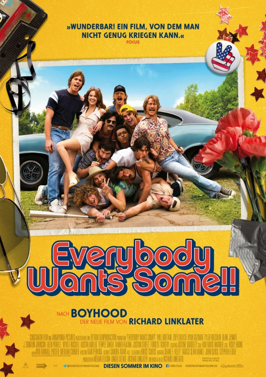 Everybody Wants Some Movie Poster