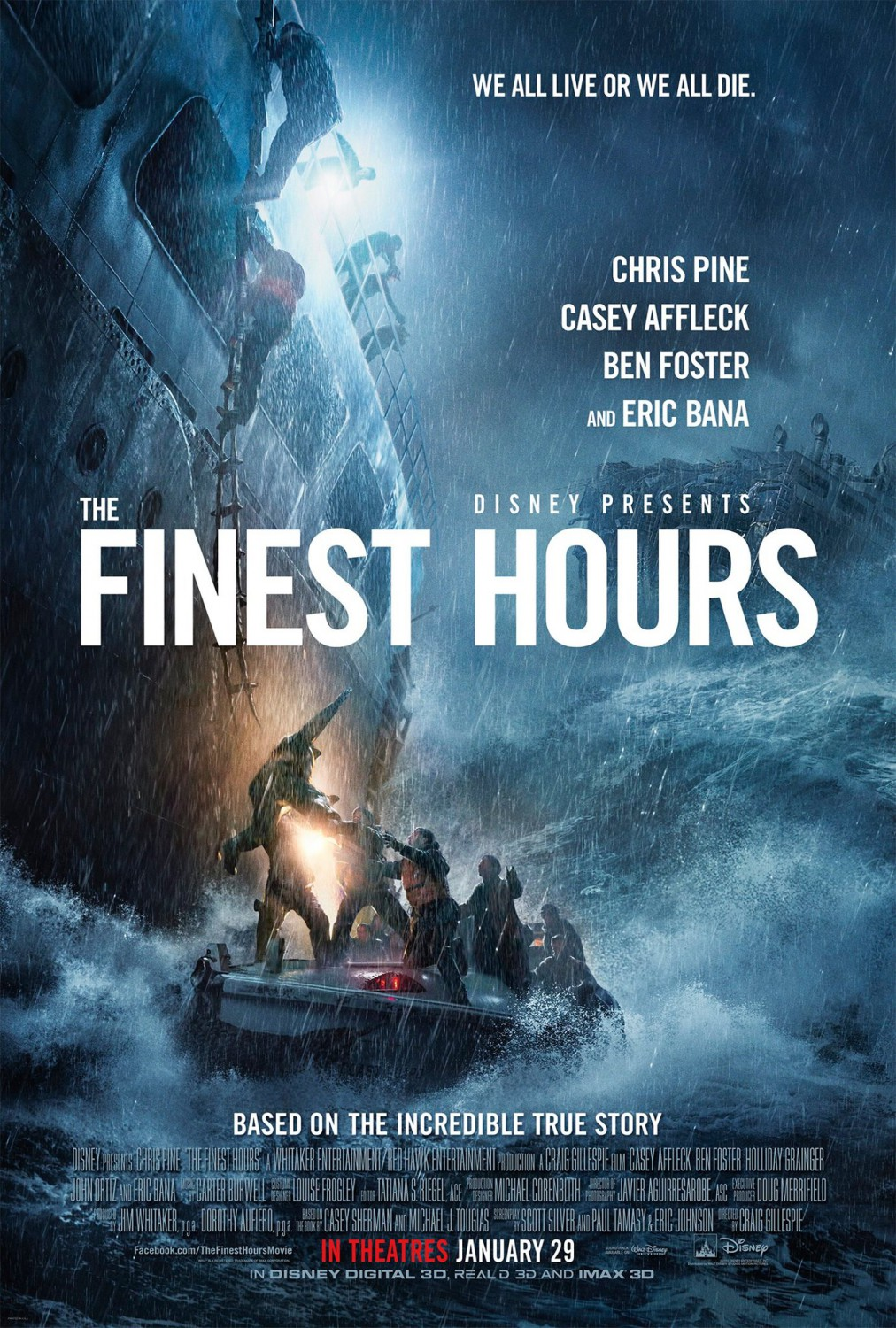 Image result for the finest hours movie poster