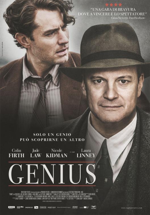 Resultado de imagen para Genius portada cine