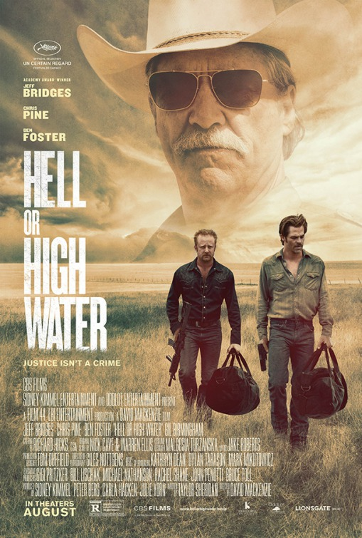 Resultado de imagen para hell or high water official movie poster