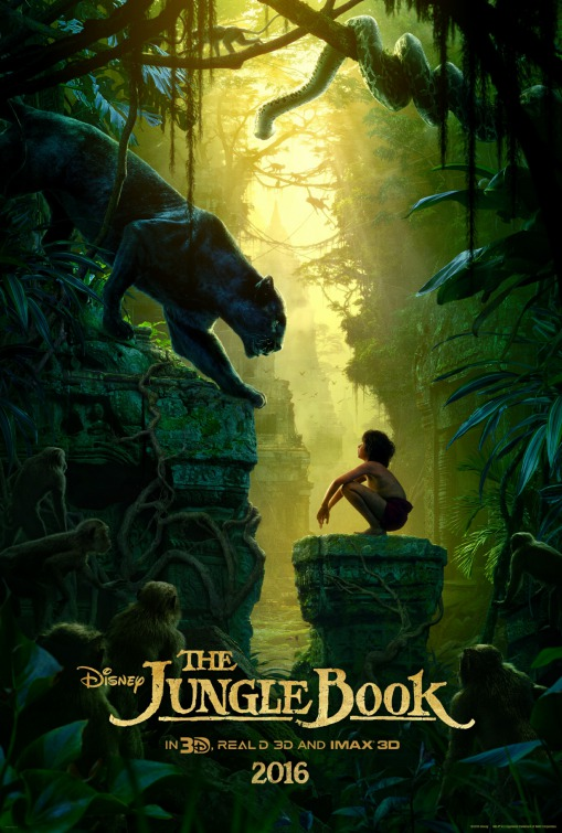 Image result for Jungle Book 2016 movie poster