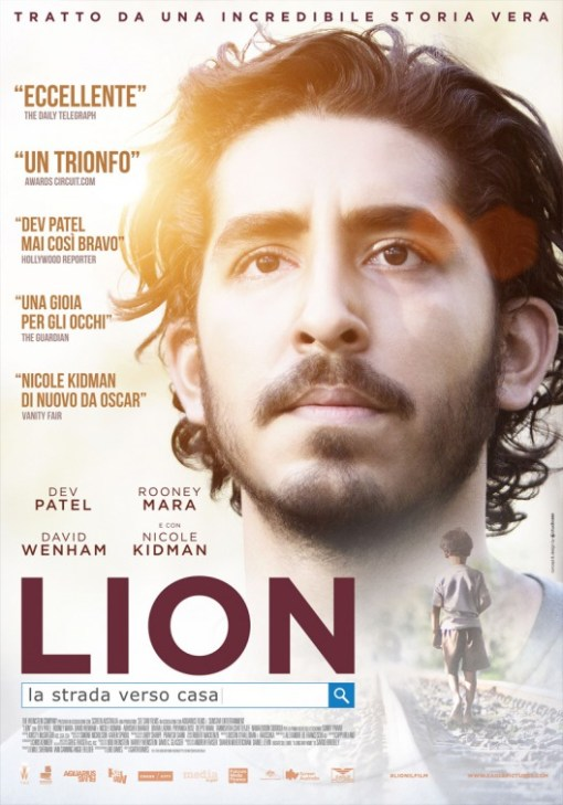 "Indian man staring into distance ""Lion"""