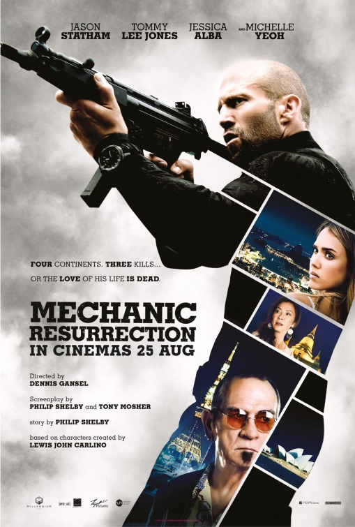 Image result for mechanic resurrection movie poster