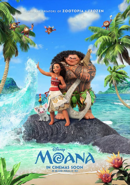 Image result for moana 2016 movie poster