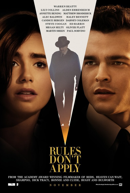 Image result for rules dont apply movie poster