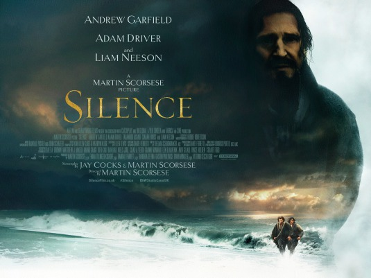 Image result for silence 2016 poster