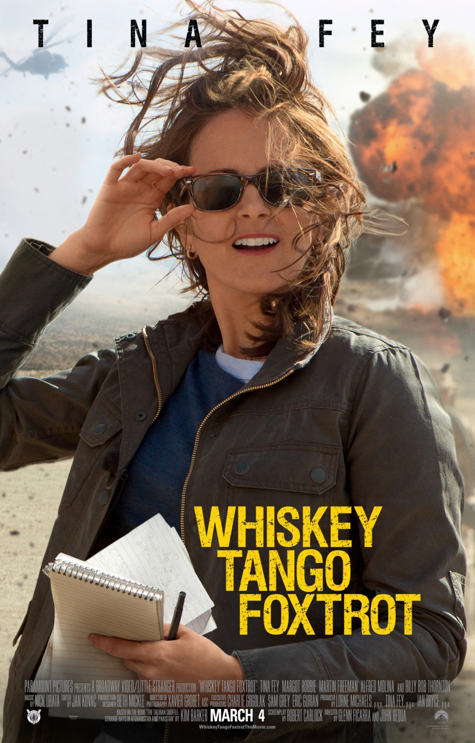 Image result for whiskey tango foxtrot movie poster
