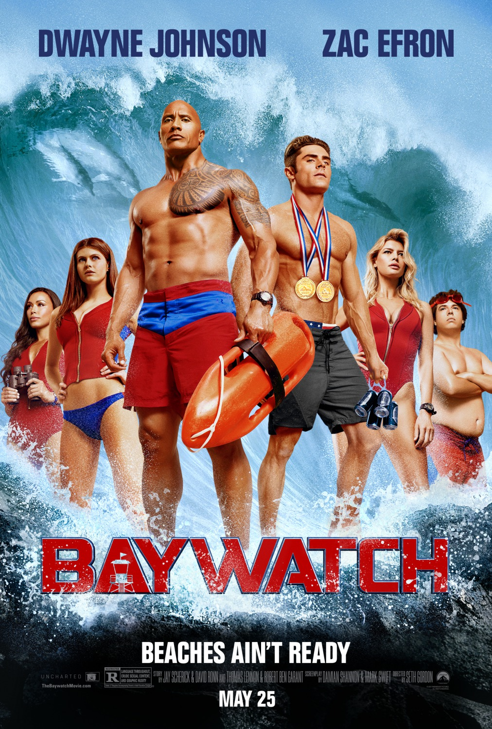 Image result for baywatch movie poster