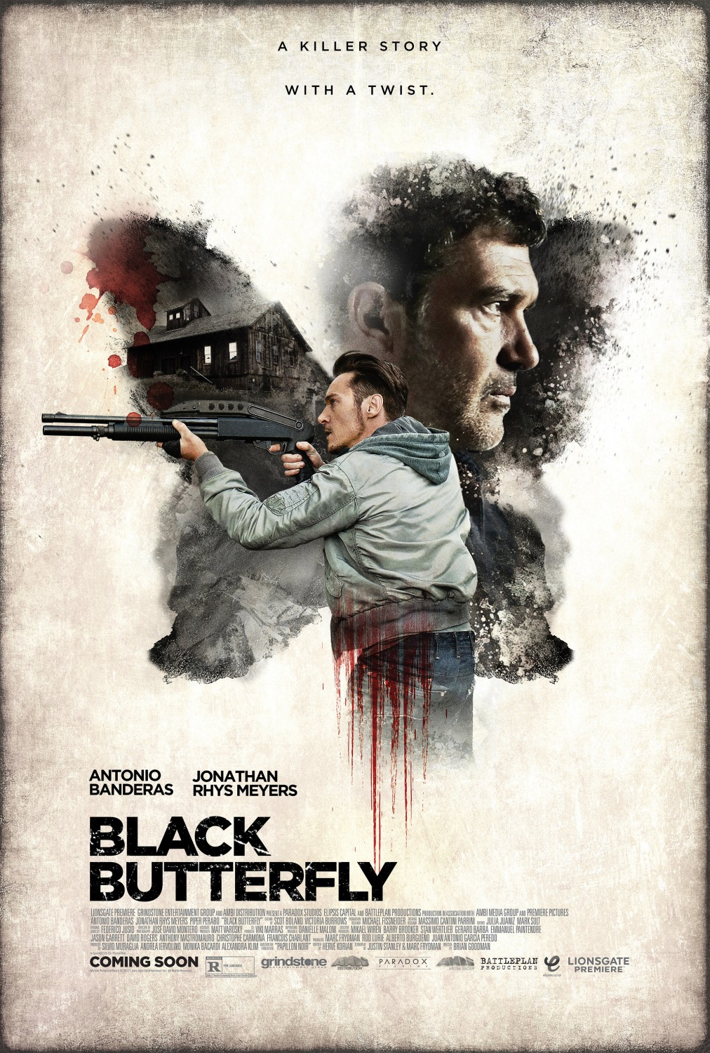 Image result for Black Butterfly movie poster