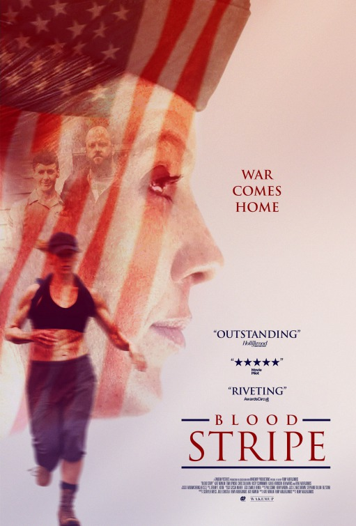 Blood Stripe Movie Poster