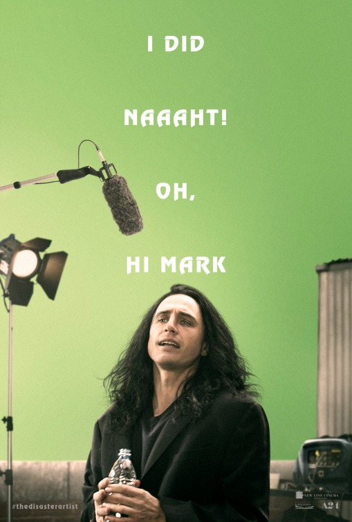 The Disaster Artist Movie Poster