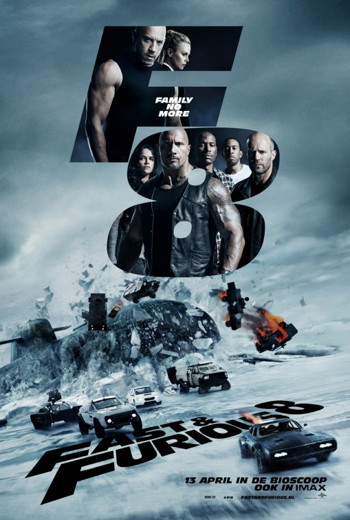 The Fate of the Furious Movie Poster