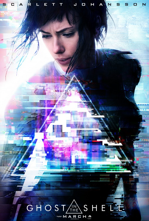Image result for ghost in the shell movie poster