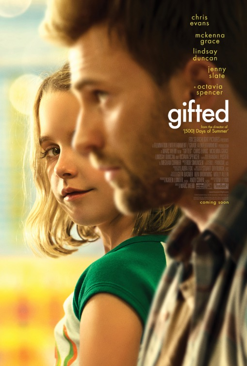 Image result for gifted movie poster