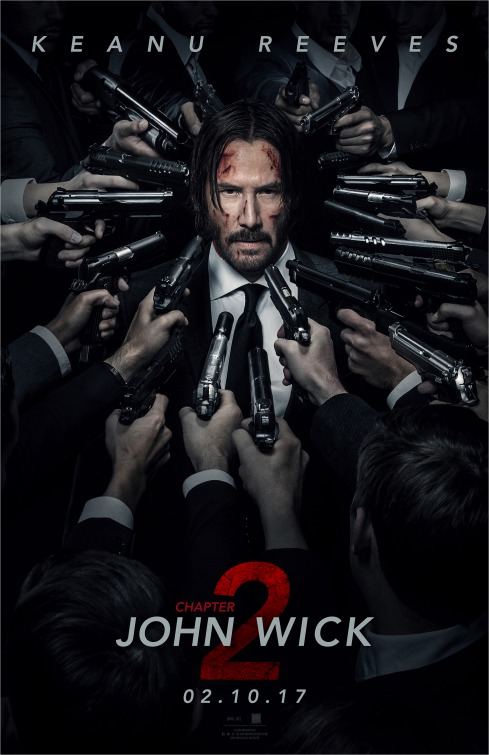 John Wick 2 Movie Poster