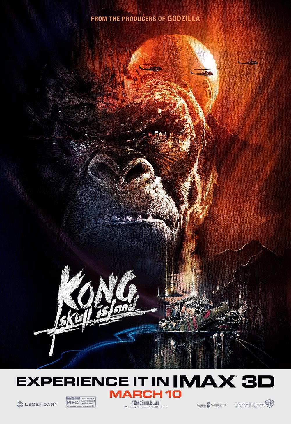 Extra Large Movie Poster Image for Kong: Skull Island (#7 of 21)