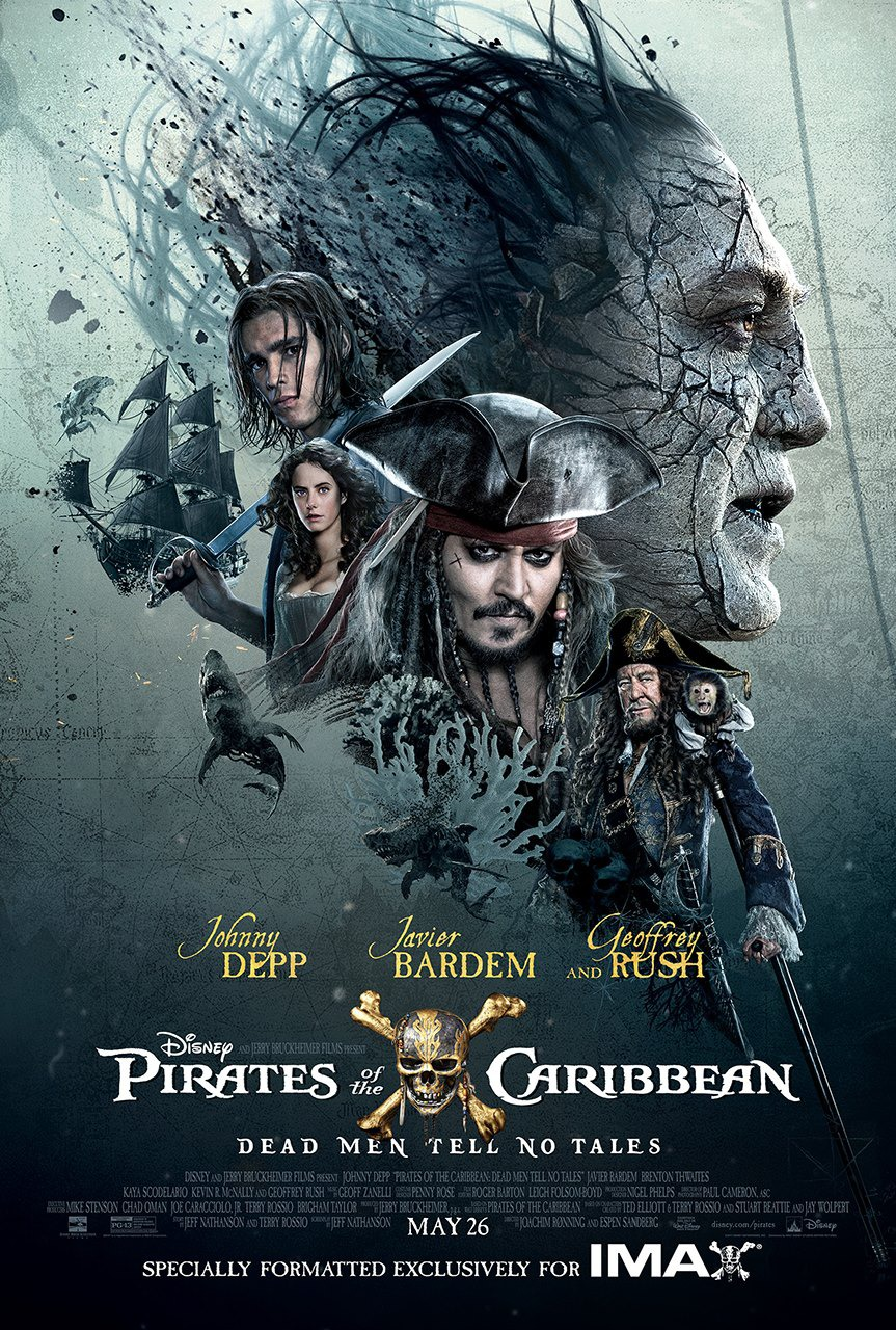 Image result for pirates dead men tell no tales movie poster