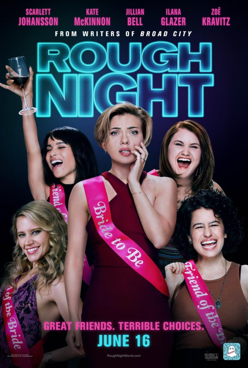 Image result for rough night movie poster