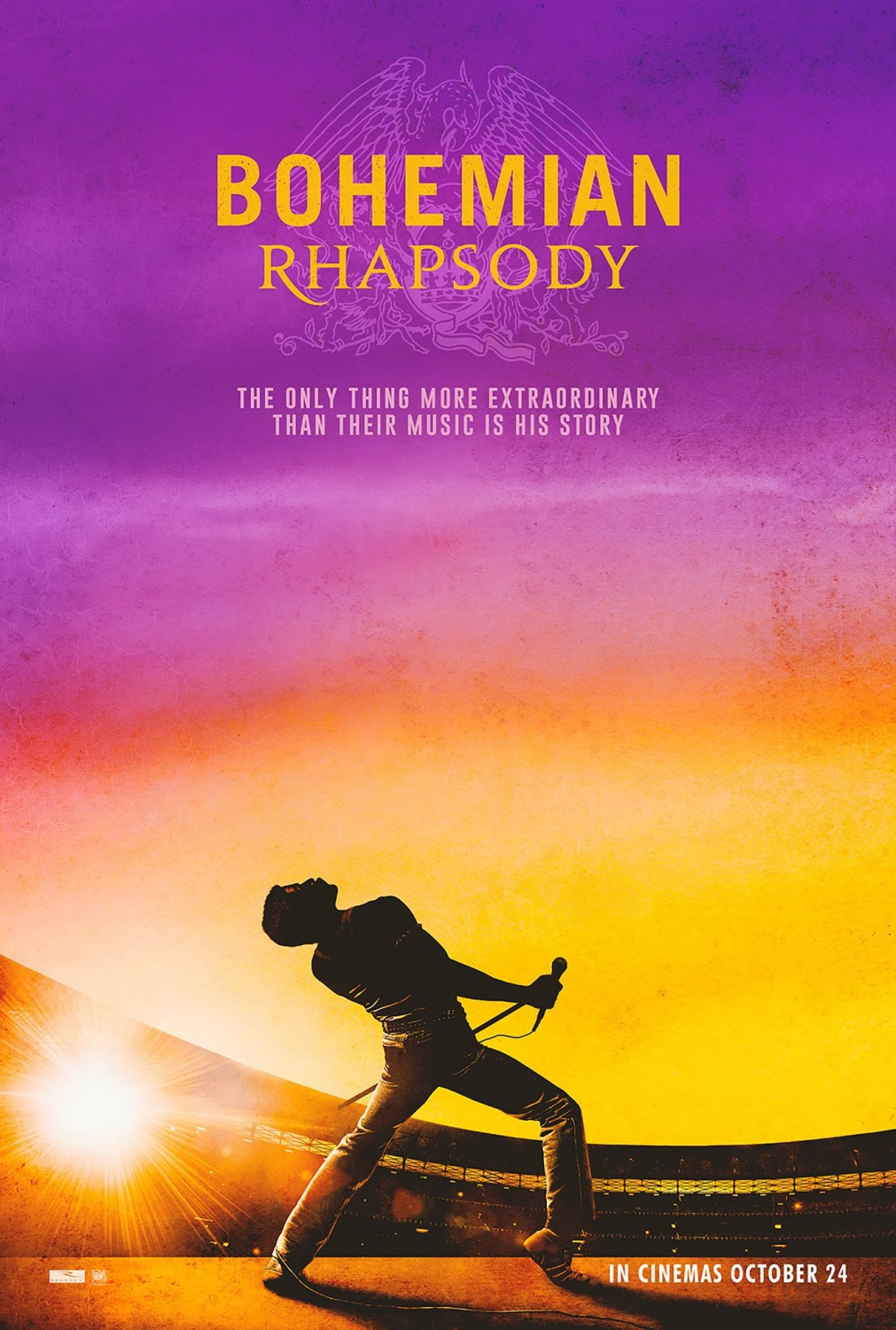 Extra Large Movie Poster Image for Bohemian Rhapsody (#2 of 10)