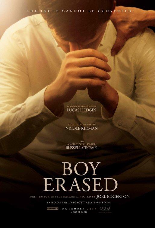 Boy Erased Movie Poster