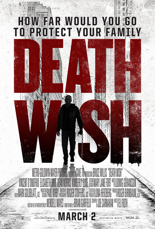 Death Wish Movie Poster 3 Of 8 IMP Awards