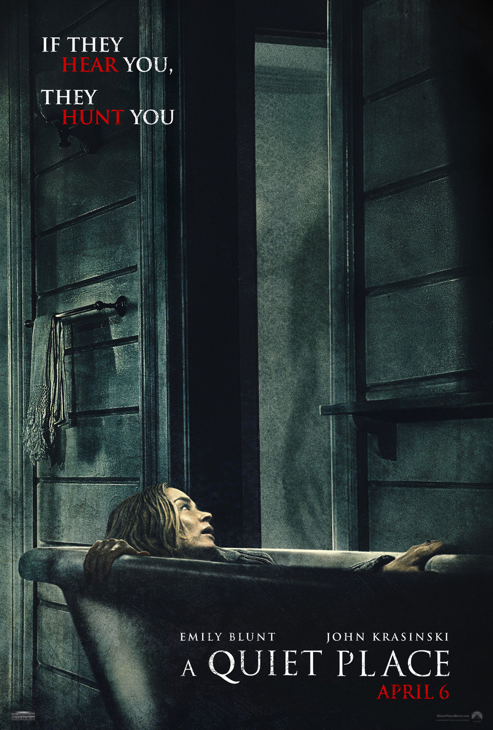 Extra Large Movie Poster Image for A Quiet Place (#1 of 4)