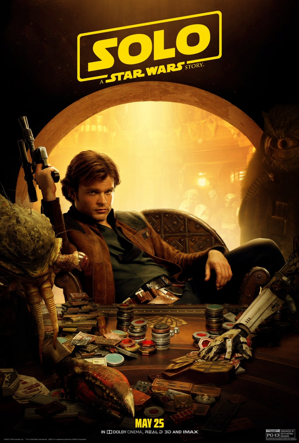 Extra Large Movie Poster Image for Solo: A Star Wars Story (#44 of 45)