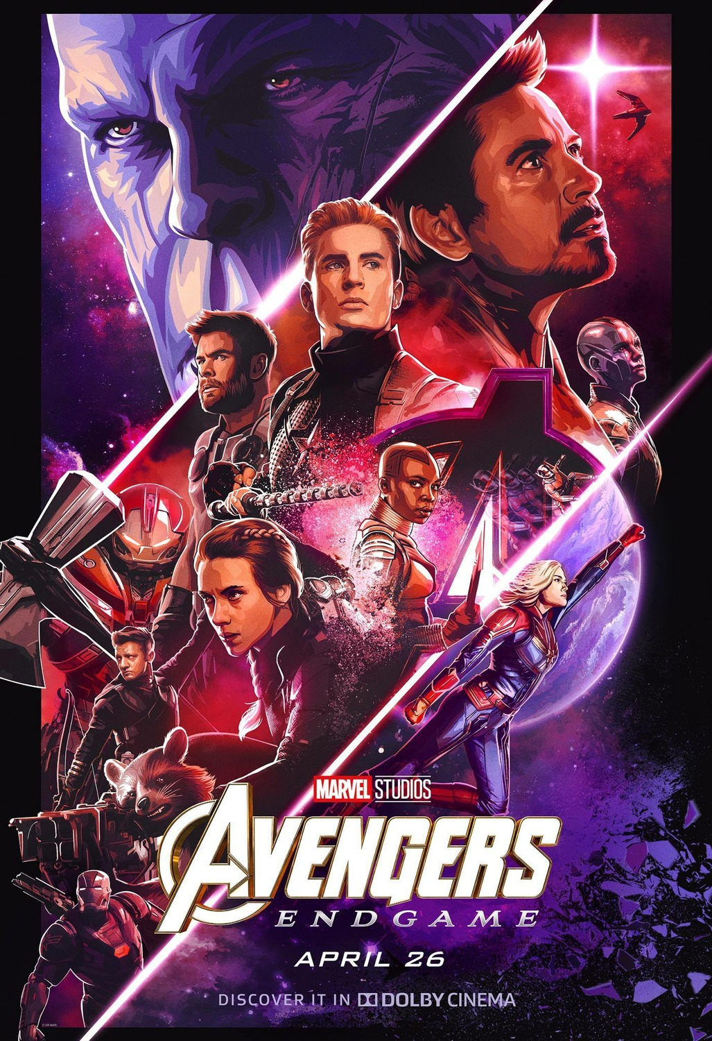 Extra Large Movie Poster Image for Avengers: Endgame (#45 of 57)