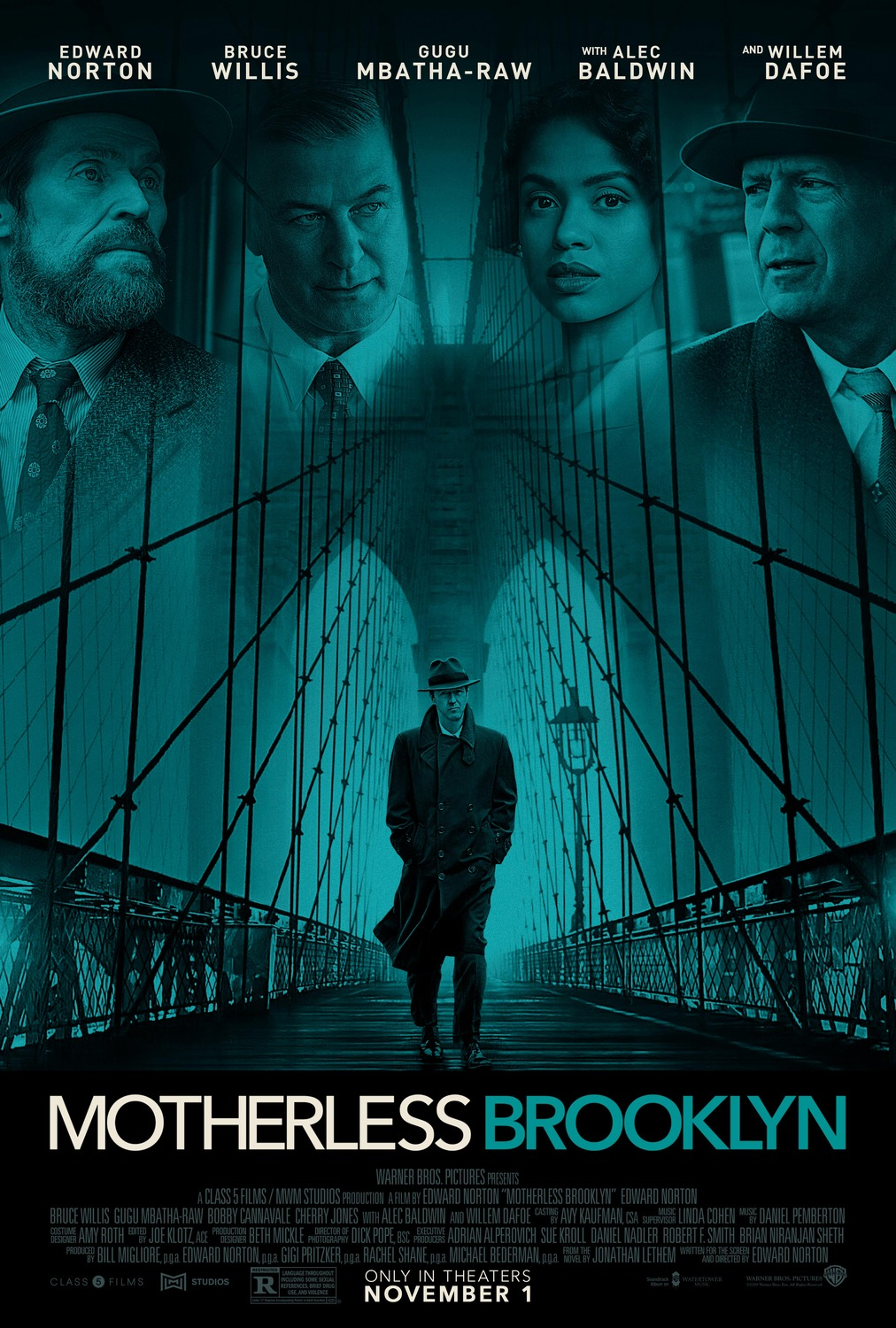 Extra Large Movie Poster Image for Motherless Brooklyn (#2 of 2)