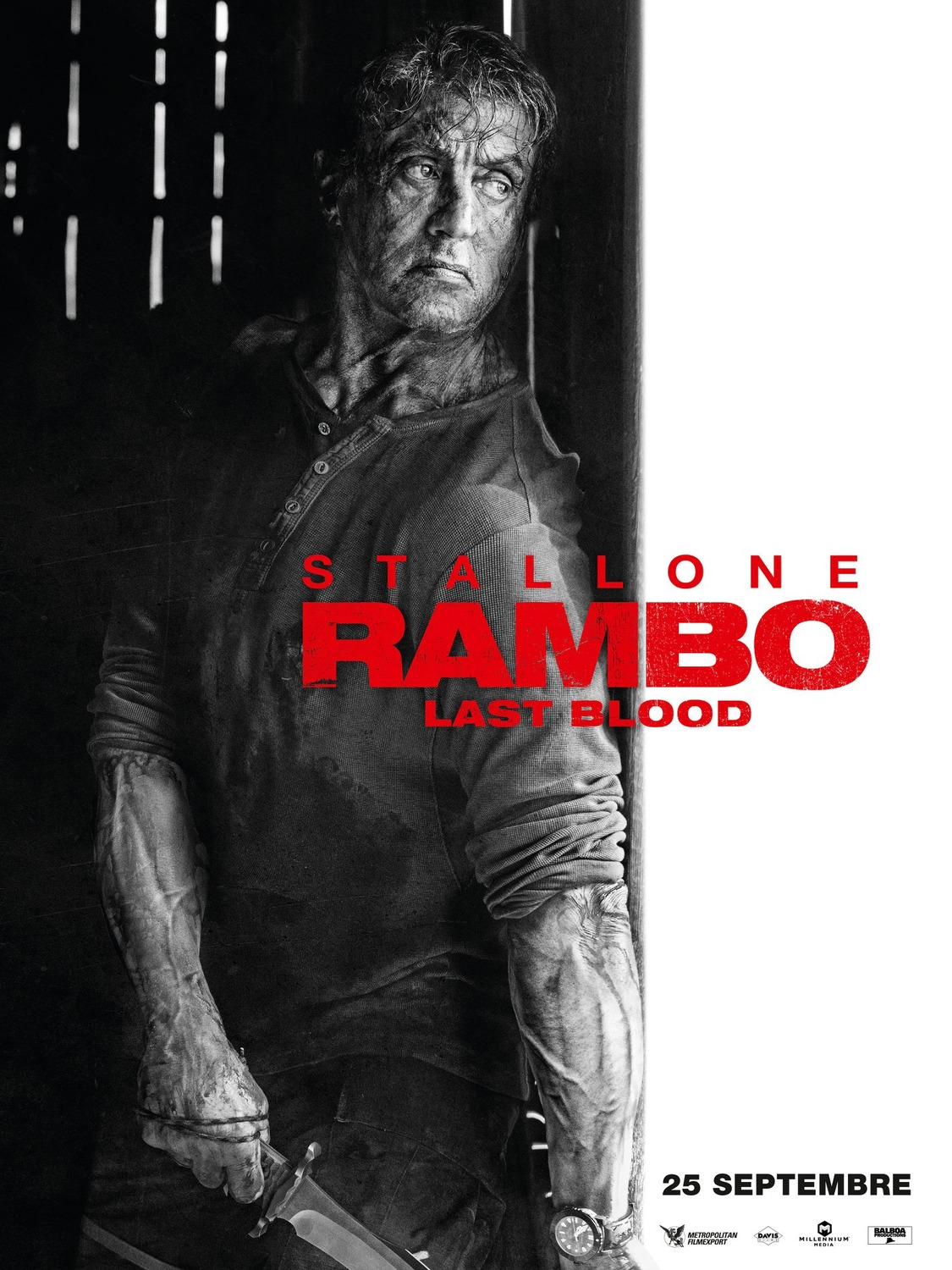 Extra Large Movie Poster Image for Rambo V: Last Blood (#4 of 5)