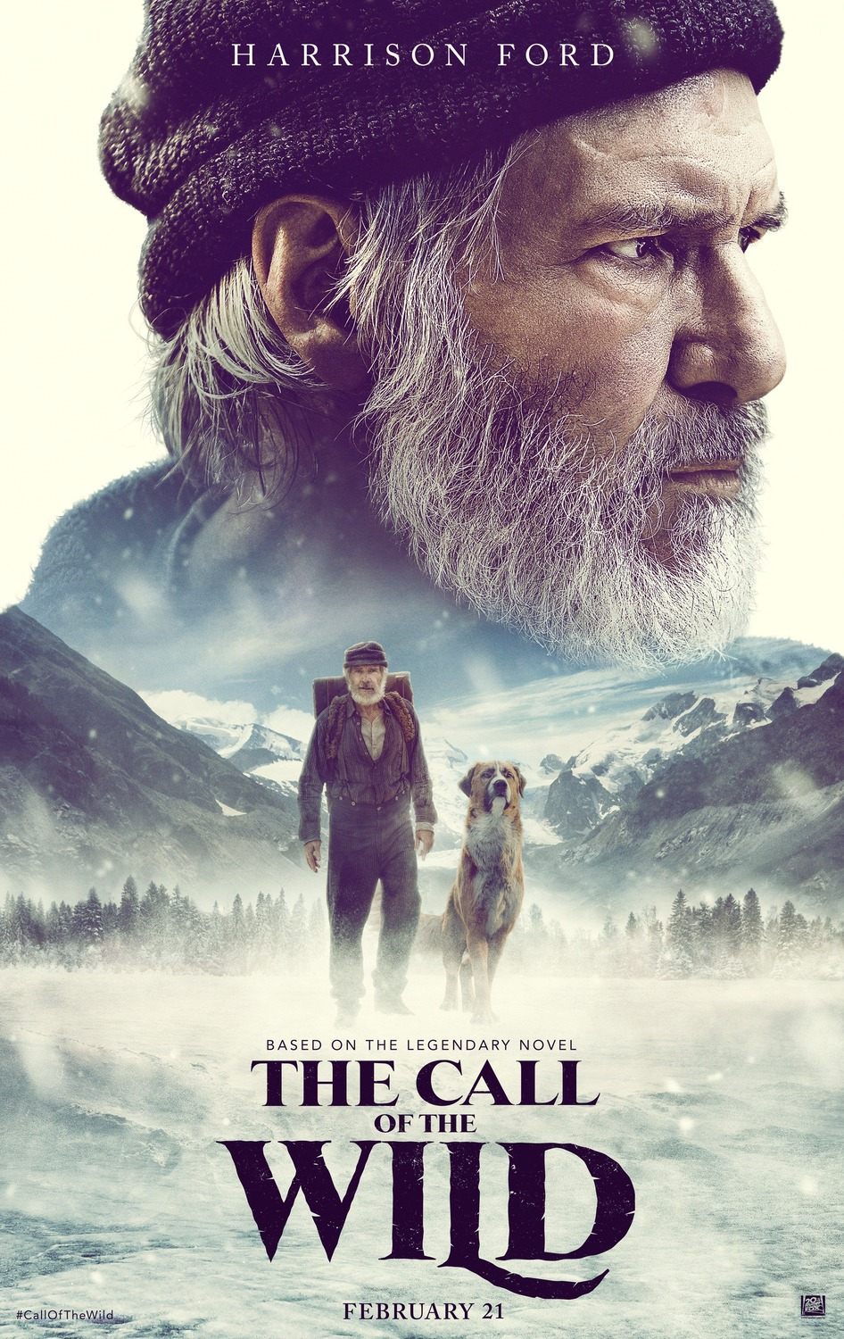 Extra Large Movie Poster Image for The Call of the Wild
