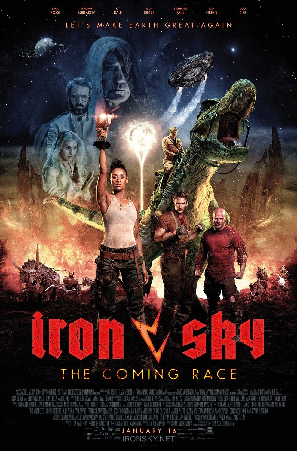 Extra Large Movie Poster Image for Iron Sky: The Coming Race (#1 of 2)