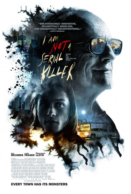 Image result for i am not a serial killer movie poster