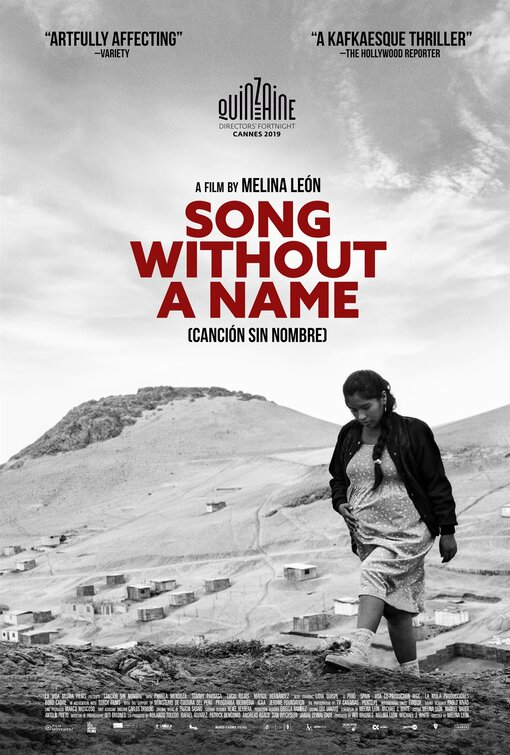 Canción sin nombre Movie Poster